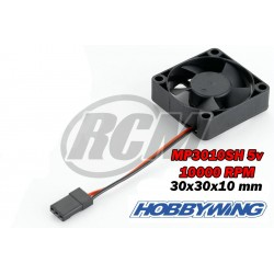 Hobbywing Fan MP0510SH 10000 RPM 5V 0.16a - Black B