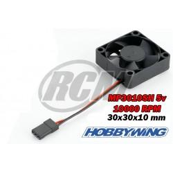 Ventilador MP3010SH 10000RPM 5V 0.16A - Hobbywing