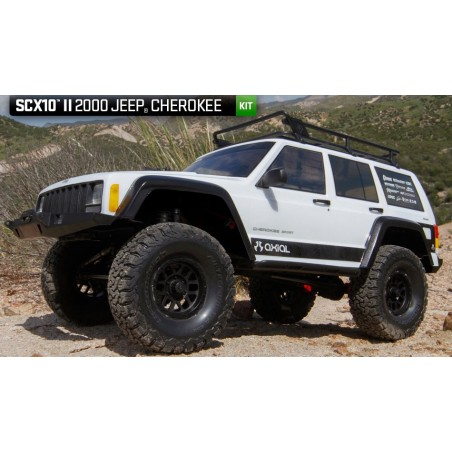 AXIAL SCX10 II™ 2000 Jeep® Cherokee – KIT