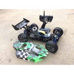 Buggy HoBao Hyper 9 Pro 1/8 + Kit + 1L Combustible