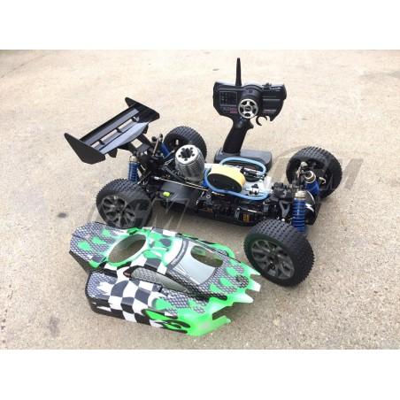 Buggy HoBao Hyper 9 Pro 1/8 + Kit + 1L Combustible