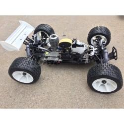 Truggy HoBao Hyper ST pro 1/8 + Kit + 1L Combustible