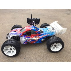 Truggy HoBao Hyper ST pro 1/8 + Kit + 1L Combustible