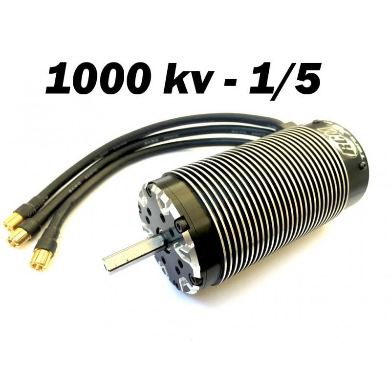 Motor Brushless RCM 58112 - 1000 KV - 4 POLOS