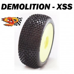 SP08900 - Ruedas TT 1/8 DEMOLITION - Super Soft x2 uds.