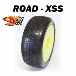 SP09000 - Ruedas TT 1/8 ROAD - Super Soft x2 uds.