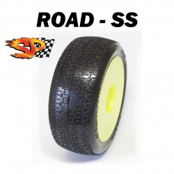 SP09010 - Ruedas TT 1/8 ROAD - Soft x2 uds.