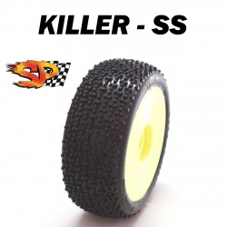 SP08810 - Ruedas TT 1/8 KILLER - Soft x4 uds.