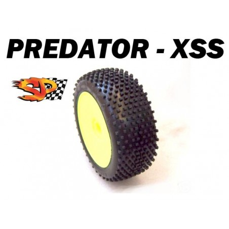 SP08400 - Buggy 1/8 Tires - PREDATOR - Super Soft x2 pcs