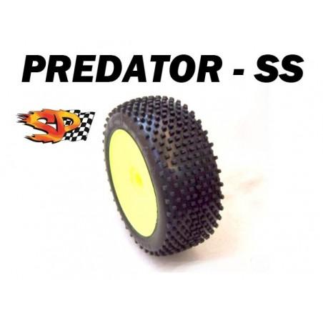 SP08410 - Buggy 1/8 Tires - PREDATOR - Soft x4 pcs