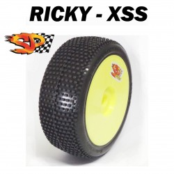 SP09200 - Ruedas TT 1/8 RICKY - Super Soft x2 uds.