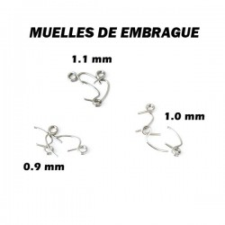 Muelles de embrague universales 0.9 - 1.0 - 1.1mm x9 uds.