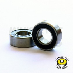 Rodamiento 1/4x1/2x3/16 2RS - Ministry of Bearing