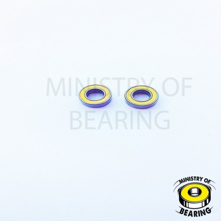 Rodamiento 8x16x5 2RS - Ministry of Bearing