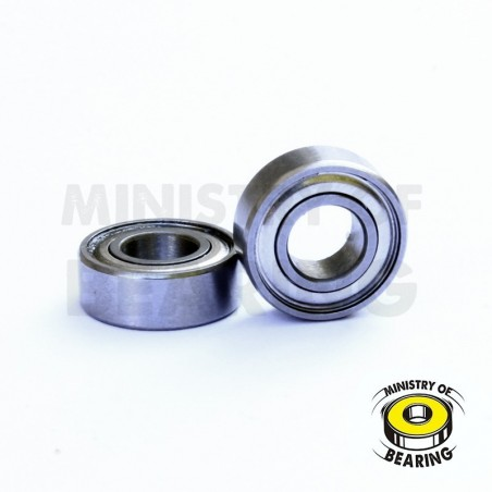 Rodamiento 5x19x6 ZZ - MOTOR BRUSHLESS - Ministry of Bearing