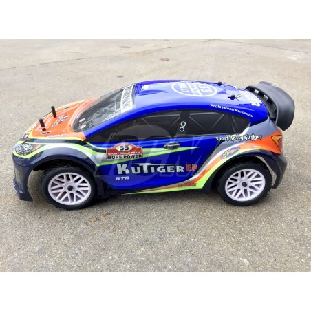 HSP Rally 1/10 Kutiger Electrico - Azul - RTR