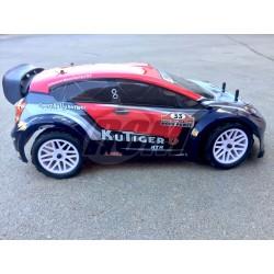 HSP Rally 1/10 Kutiger Electrico - Rojo - RTR