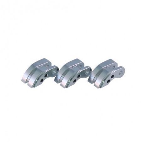 Aluminium COMPAK Clutch Shoes x3 pcs