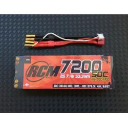 Bateria LiPo COMPETITON RCM NUCLEAR 7200 mAh 7.4v 50C-80C