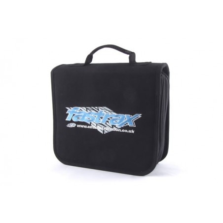 Fastrax Mega Tool Carry Bag 40 Slots, Zip Slot, 2 Layers