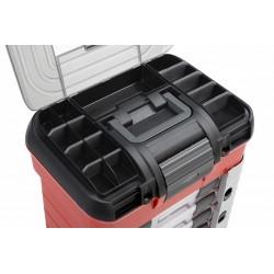 Team Corally - Pit Case - 4 Assortment Box Drawers - Universal Pre-Cut Foam