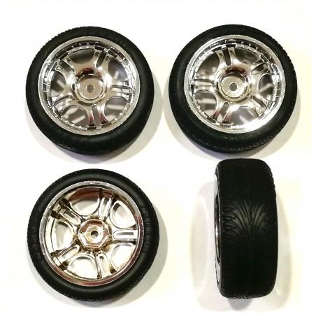 13054 - Set ruedas CARSON para pista 1/10 x4 uds.