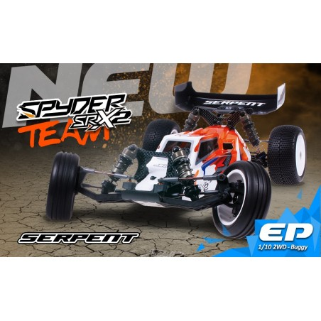 Serpent Spyder SRX2 MH Team Edition 1/10 - ELECTRICO