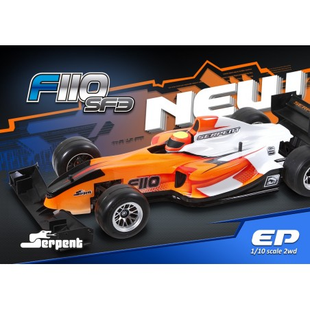 Serpent F110 Formula SF3 1/10 - ELECTRICO