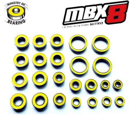 Ballbearing KIT for MBX8 - Ministry