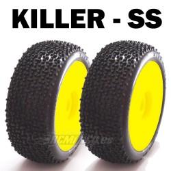 SP08810 - Ruedas TT 1/8 KILLER - Soft x4 uds.