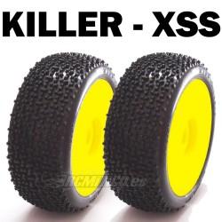 SP08800 - Ruedas TT 1/8 KILLER - Super Soft x2 uds.
