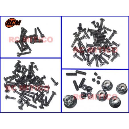 7282 - Full screw set for 1/10