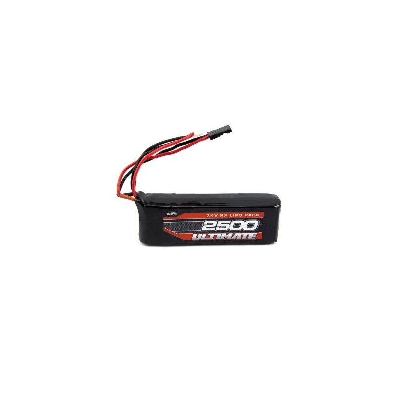 LiPo Battery 7.4v ULTIMATE receiver 2500mAh