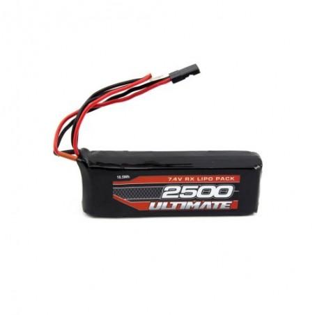 LiPo Battery 7.4v ULTIMATE receiver 2500mAh