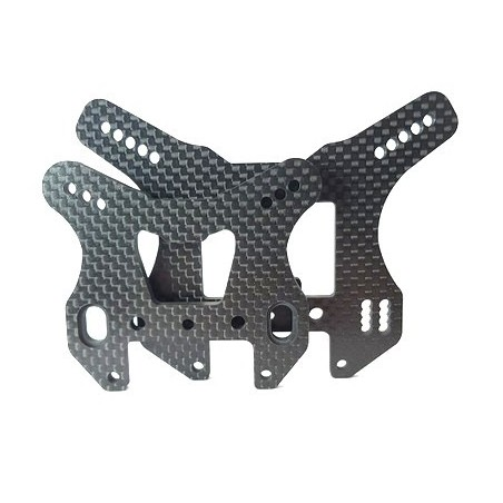 Kyosho TKI3-4 Front and Rear shock tower
