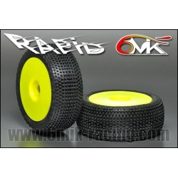 6MIK Ultra Rapid tire GLUED x2 pcs