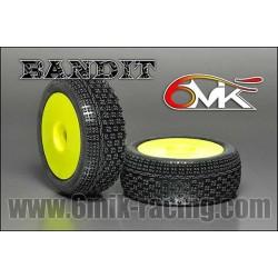 6MIK Ultra Bandit tire GLUED x2 pcs