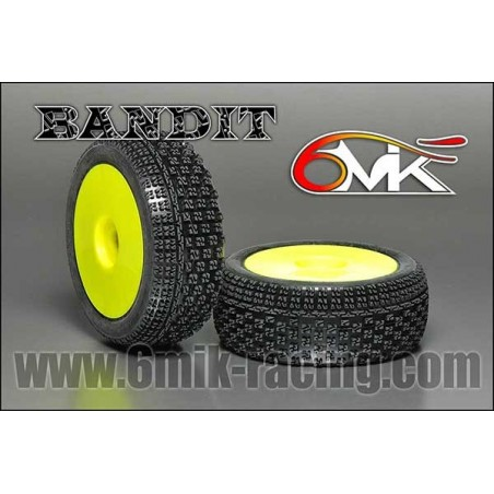 6MIK Ultra Bandit tire GLUED x2 pcs