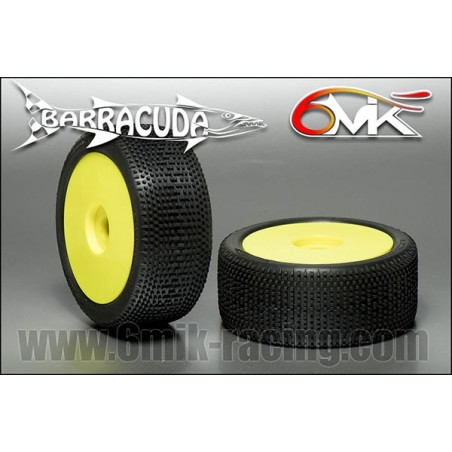 6MIK Ultra Barracuda tire GLUED x2 pcs