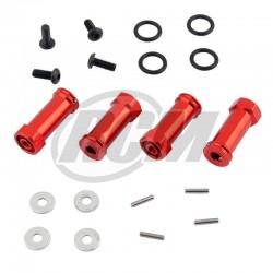SLA010 - Hexagonos de ensanche 25x12 mm Aluminio