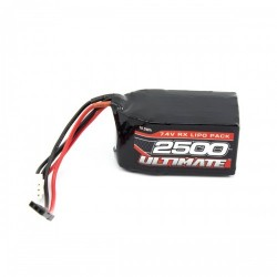 Bateria ULTIMATE LiPo Receptor 7.4v 2500 mAh