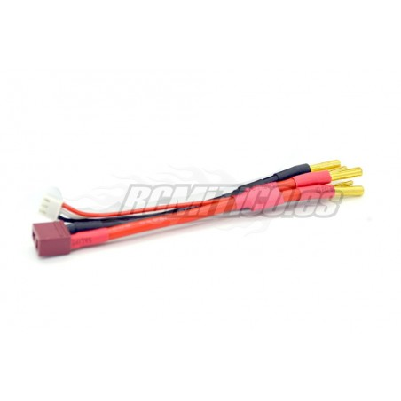 Balance wire for 2S LiPo - Dual Banana 4.0 mm