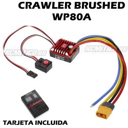 Quicrun ESC WP Brushed Crawler 80A