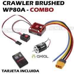 COMBO CRAWLER Quicrun ESC WP 80A + Axial 35T Motor