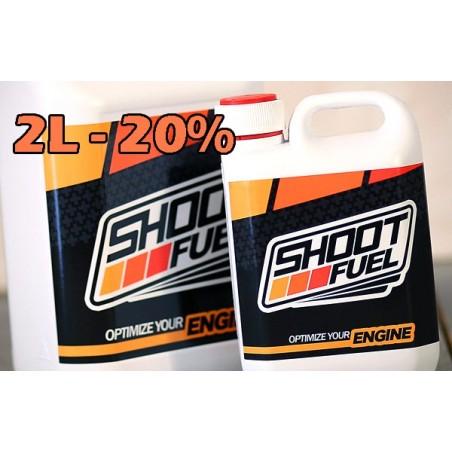 Combustible SHOOT FUEL 2 Litros 20%