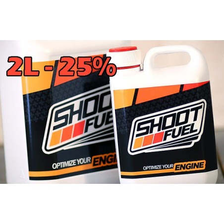 Combustible SHOOT FUEL 2 Litros 25%