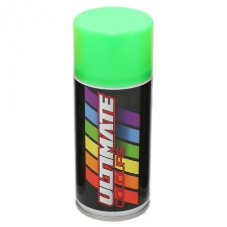 Fluorescent Green 150 ml. - Spray can Ultimate Racing