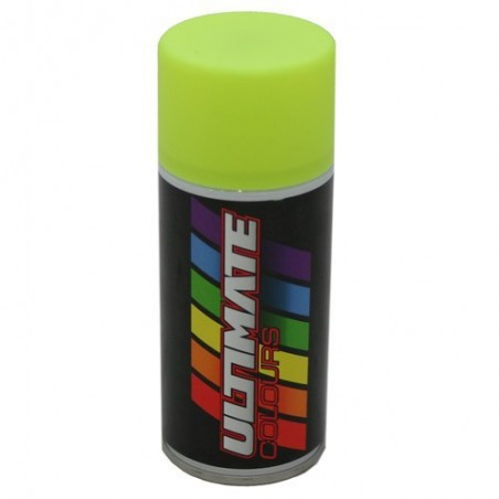 Spray Amarillo Fluorescente para Lexan 150 ml - Ultimate Racing