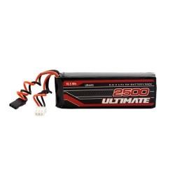 ULTIMATE 6.6v 2500mah LiFe Flat receiver battery pack JR