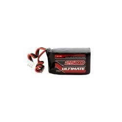 Bateria ULTIMATE LiFe cuadrada receptor 6.6v 2500 mAh
